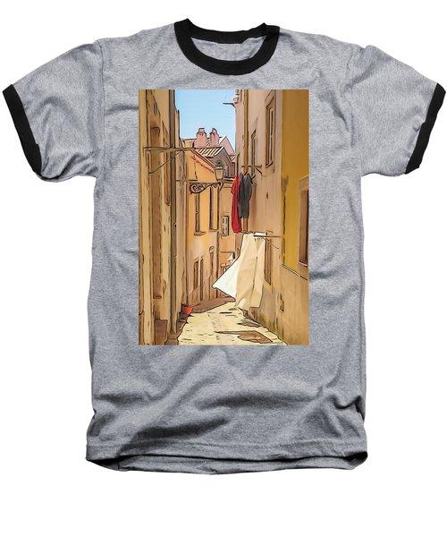 Lisbon Street #2 Baseball T-Shirt