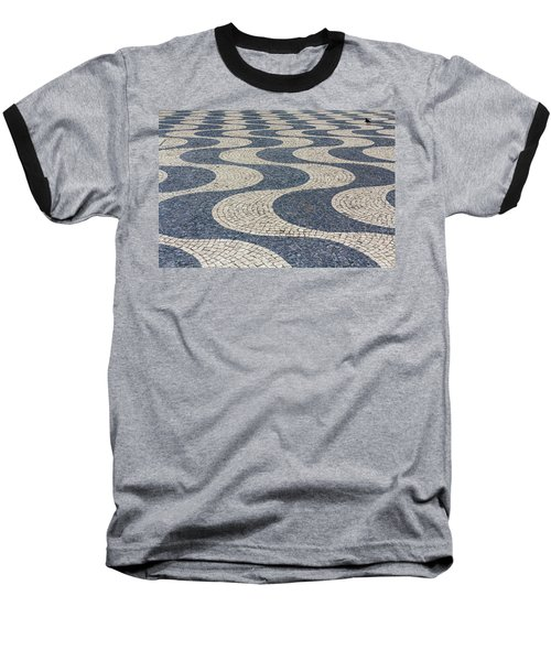 Lisbon Street Baseball T-Shirt by Patricia Schaefer