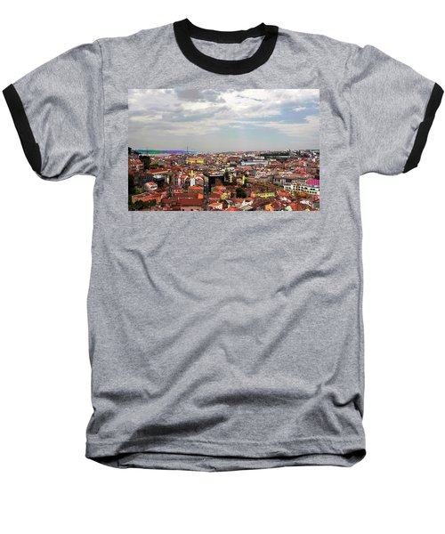 Lisbon's Chaos Of Color Baseball T-Shirt
