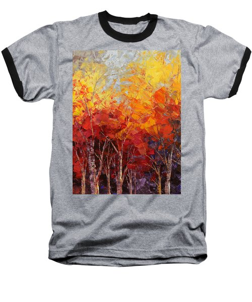 Listening To Leaves Baseball T-Shirt