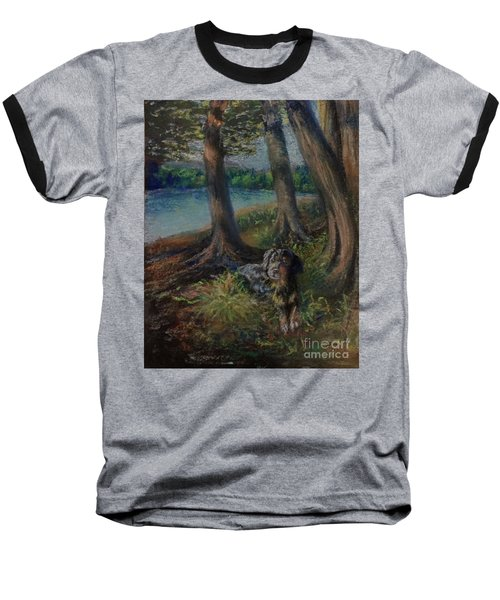 Listening To The Tales Of The Trees Baseball T-Shirt