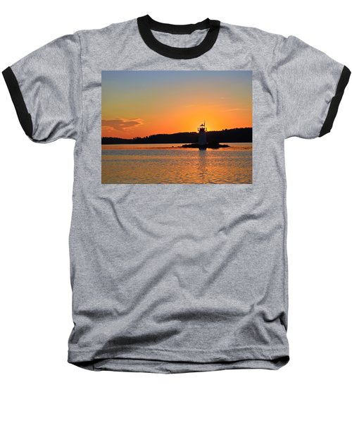 Lit By The Sun Baseball T-Shirt