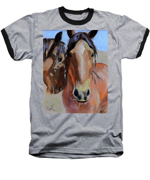 Litchfield Homies Baseball T-Shirt by Pattie Wall