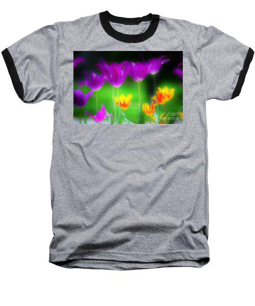 Lite From Below Baseball T-Shirt