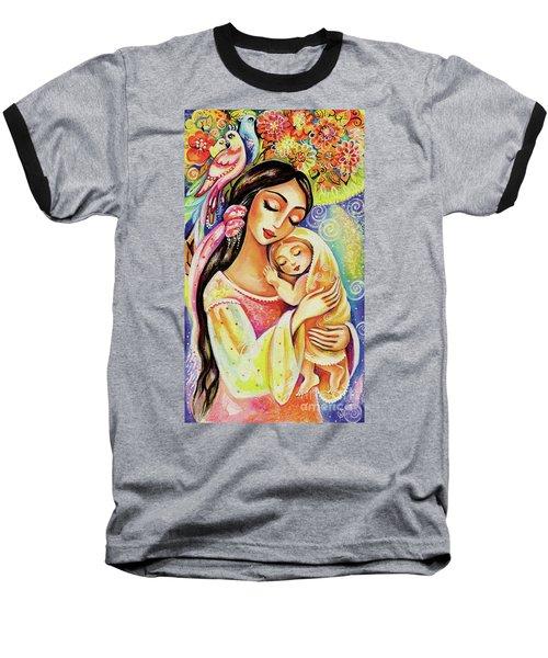 Little Angel Dreaming Baseball T-Shirt