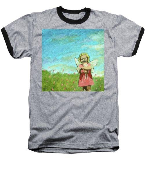 Little Angel Baseball T-Shirt