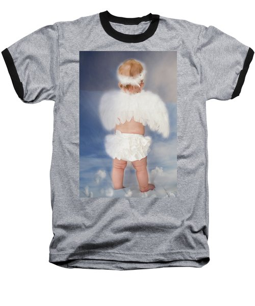 Baseball T-Shirt featuring the photograph Little Angel by Linda Segerson