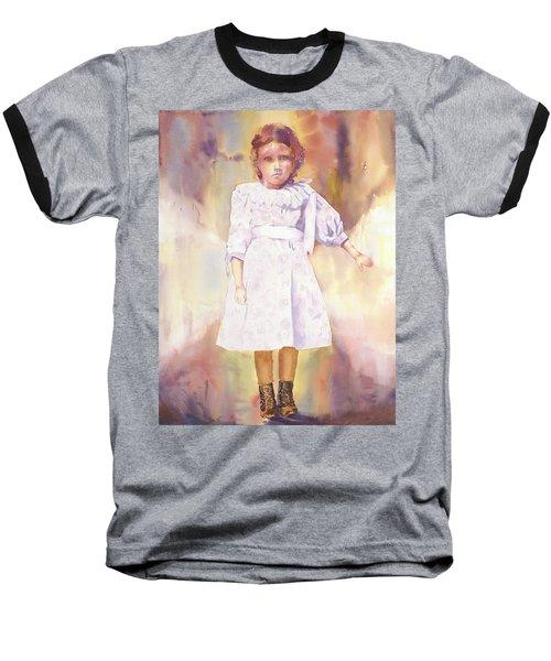 Little Anna Baseball T-Shirt by Tara Moorman