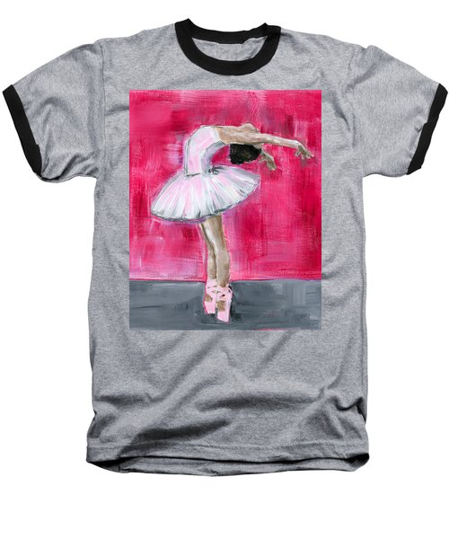 Little Ballerina #2 Baseball T-Shirt