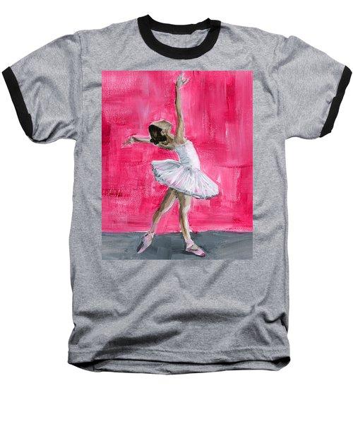 Little Ballerina Baseball T-Shirt
