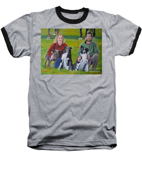 Little Bit's New Family Baseball T-Shirt