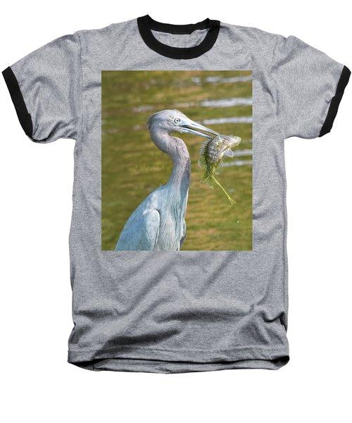 Little Blue Shows Me Its Catch Baseball T-Shirt