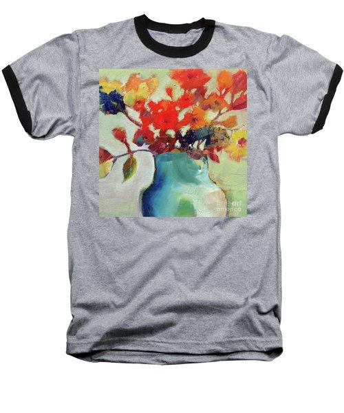 Little Bouquet Baseball T-Shirt by Michelle Abrams
