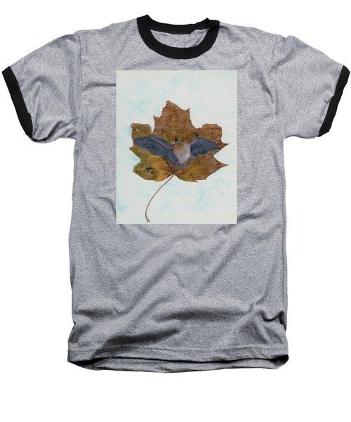 Little Brown Bat Baseball T-Shirt by Ralph Root