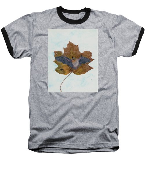 Little Brown Bat Baseball T-Shirt