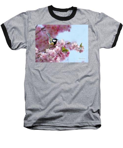 Little Coal Tit Baseball T-Shirt