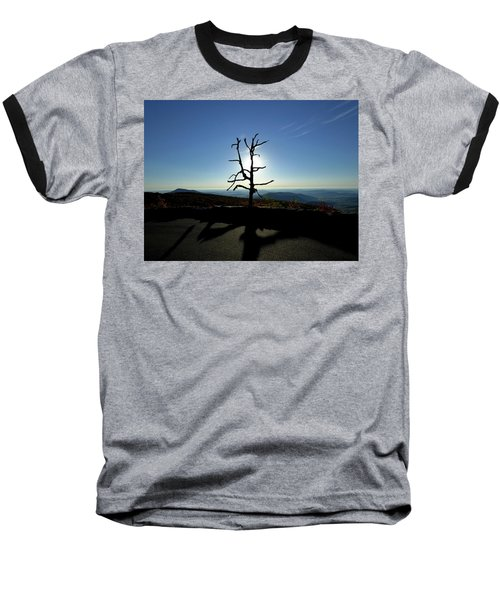 Baseball T-Shirt featuring the photograph Little Devil Stairs Overlook by Robert Geary