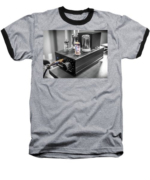 Little Dot II Headphone Tube Amplifier Baseball T-Shirt