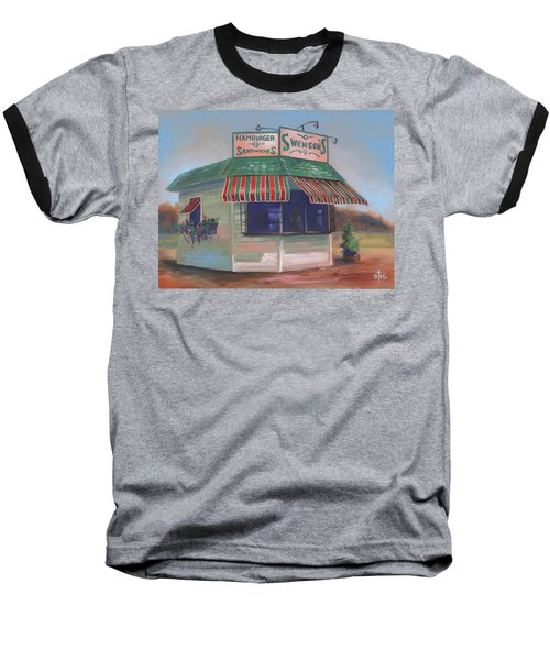 Little Drive-in On South Hawkins Ave Baseball T-Shirt