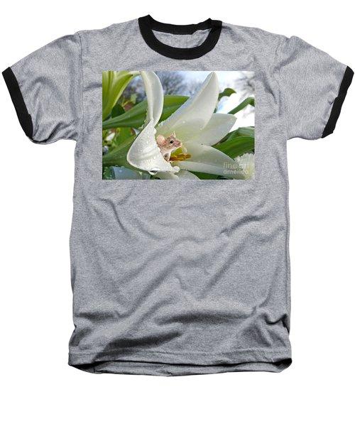 Little Field Mouse Baseball T-Shirt