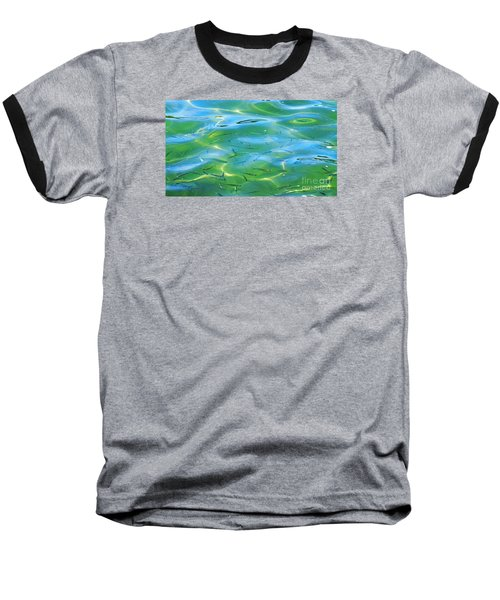 Little Fish Baseball T-Shirt by Scott Cameron