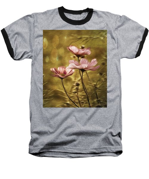 Little Flowers Baseball T-Shirt