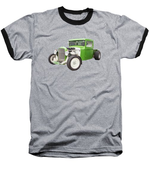 Little Green 32 Baseball T-Shirt by Keith Hawley