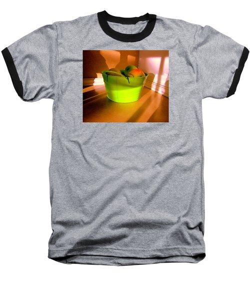 Little Green Apples Baseball T-Shirt by Bill OConnor