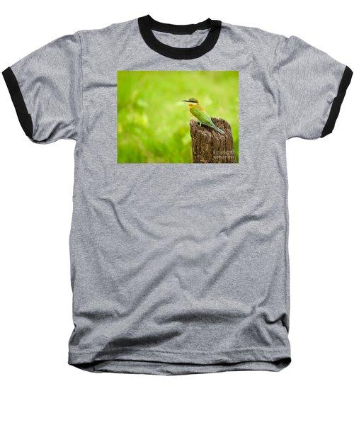 Little Green Bee-eater Baseball T-Shirt