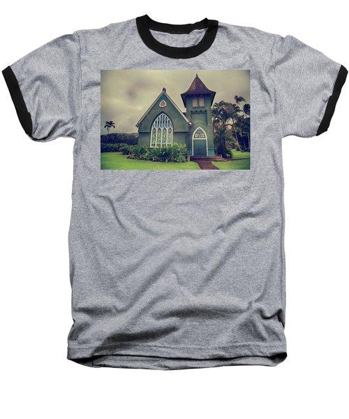 Little Green Church Baseball T-Shirt