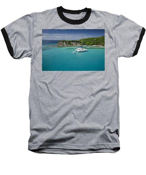 Little Harbor, Peter Island Baseball T-Shirt