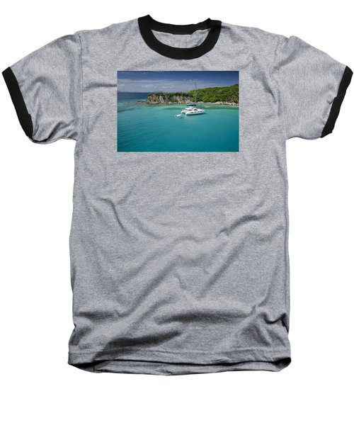 Little Harbor, Peter Island Baseball T-Shirt