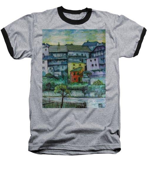 River Homes Baseball T-Shirt by Ron Richard Baviello