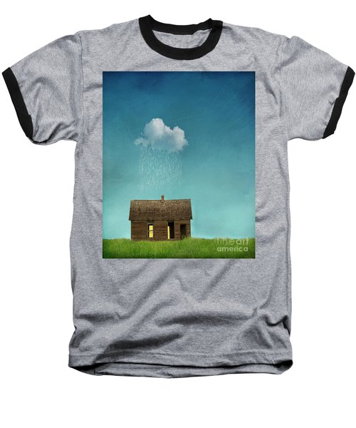 Baseball T-Shirt featuring the photograph Little House Of Sorrow by Juli Scalzi