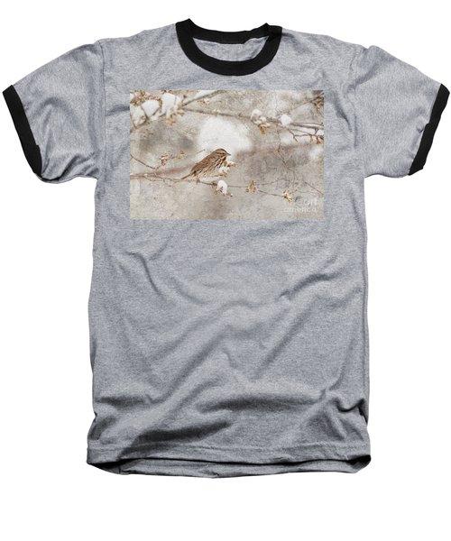 Little House Sparrow Baseball T-Shirt