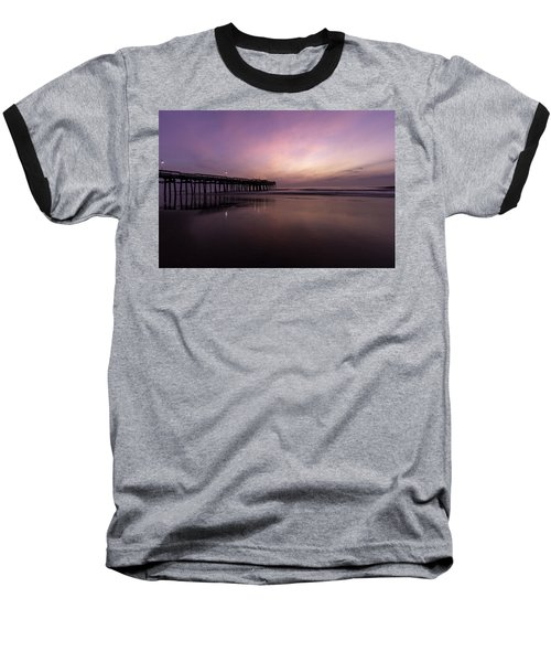 Little Island Sunrise Baseball T-Shirt