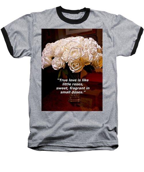 Little Love Roses Baseball T-Shirt