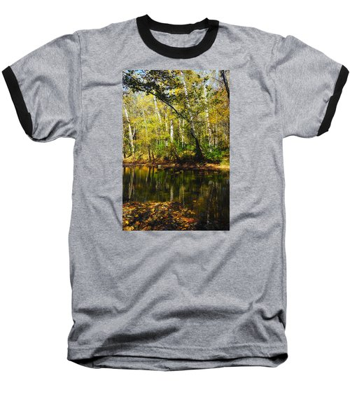 Baseball T-Shirt featuring the photograph Little Miami River by Beth Akerman