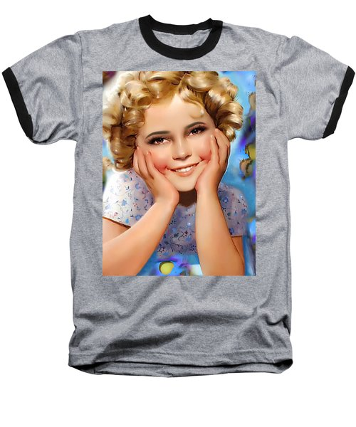 Little Miss Shirley Baseball T-Shirt