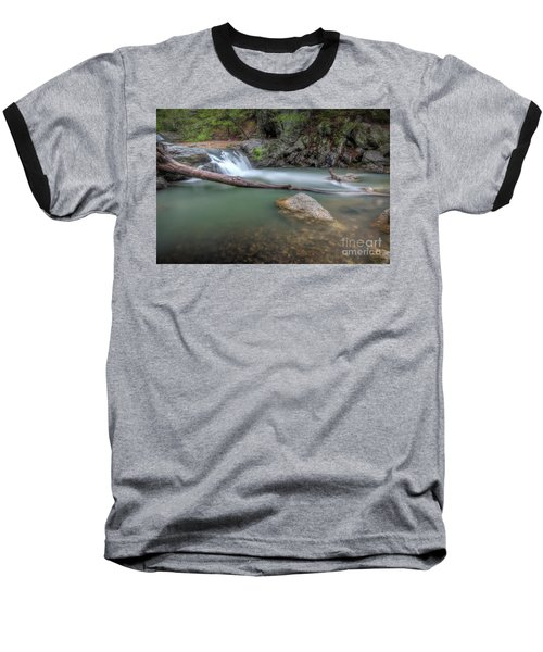 Little Missouri Falls 2 Baseball T-Shirt