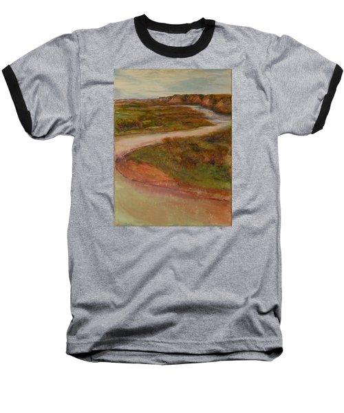 Little Missouri Overlook  Baseball T-Shirt