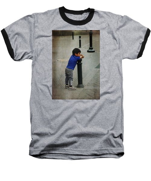 Little Peruvian Boy Baseball T-Shirt