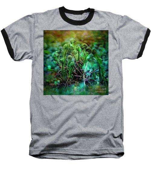 Little Planet Baseball T-Shirt by Agnieszka Mlicka