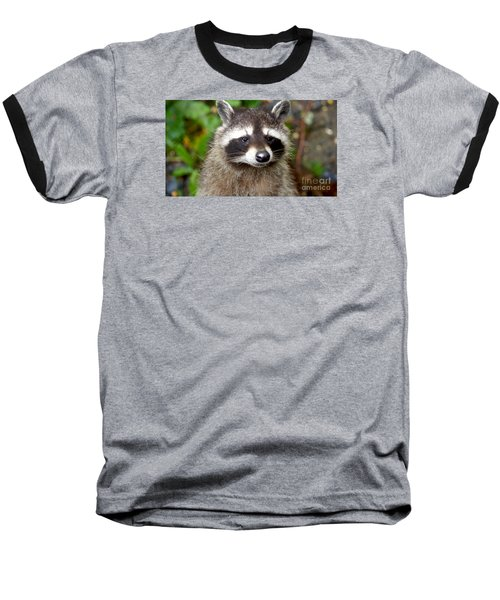 Little Racoon - Procyon Lotor Baseball T-Shirt