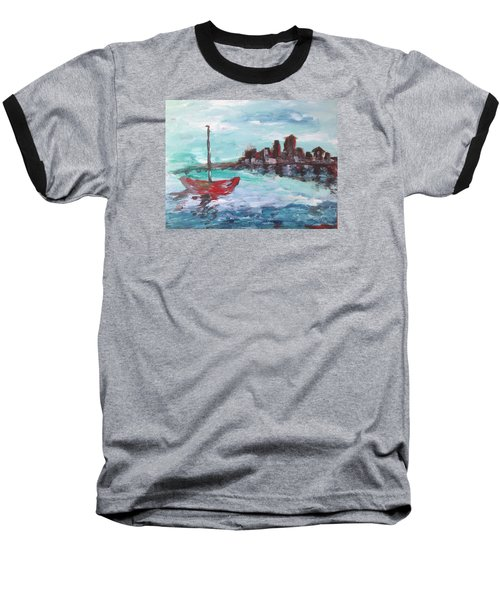 Coast Baseball T-Shirt by Roxy Rich