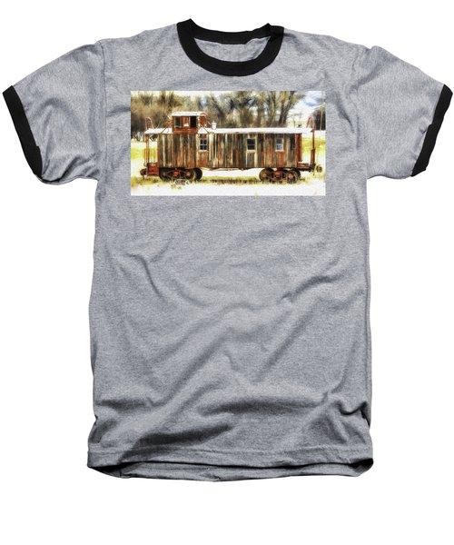 Little Red Caboose  Baseball T-Shirt