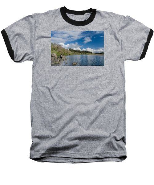Little River In Spring Baseball T-Shirt by Greg Nyquist