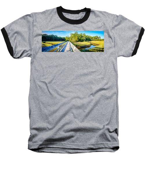 Little River Marsh Baseball T-Shirt