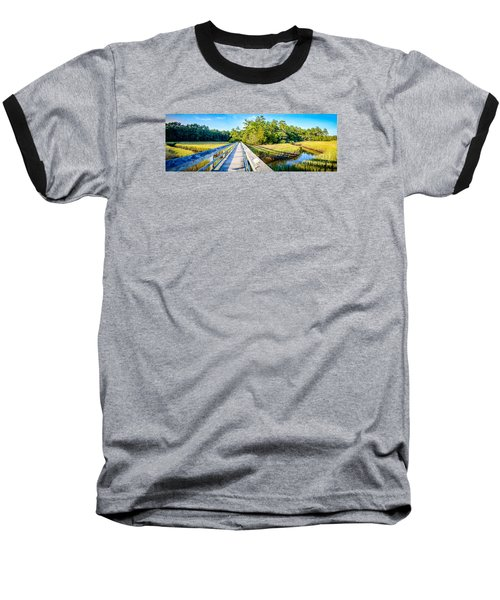 Little River Marsh Baseball T-Shirt