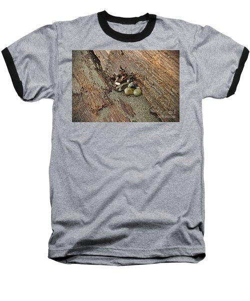 Baseball T-Shirt featuring the photograph Little Rocks by Cendrine Marrouat